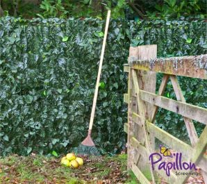 Ivy Hedge Artificial Fencing Screening 3.0m x 1.0m (10ft x 3ft 3in) - By Papillon™