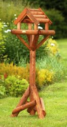 The Somerset Covered Bird Table