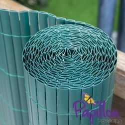 Green Bamboo Cane Artificial Fencing Screening 4.0m x 1.5m (13ft 1in x 5ft) - By Papillon™