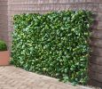 1 x 2m Extendable Artificial Laurel Leaf Screening Trellis - by Papillon™