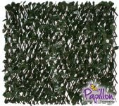 1 x 2m Extendable Artificial English Ivy Screening Trellis - by Papillon™