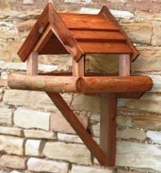 Gloucestershire Wall Mounted Covered Bird Feeder Table