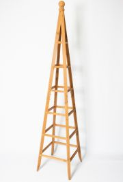 190cm Tan Wooden Obelisk Plant Support by Lacewing™