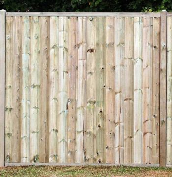 Rebated Shiplap Fence Panels