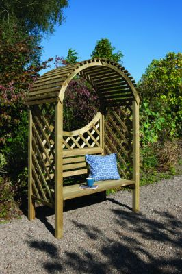 Keswick Wooden Arbour H2m