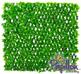 1 x 2m Extendable Artificial Poplar Screening Green Trellis (3ft 3in x 6ft 7in) - by Papillon™