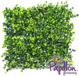 50x50cm Dark Buxus Artificial Hedge Panel (1ft 7in x 1ft 7in) - by Papillon™