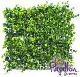 50x50cm Dark Buxus Artificial Hedge Panel - by Papillon™ - 4 Pack - 1m²