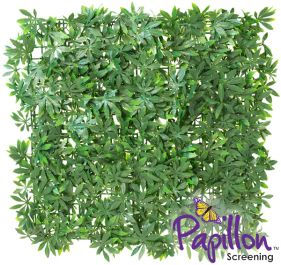 50x50cm Green Acer Artificial Hedge Panel - by Papillon™ - 8 Pack - 2m²