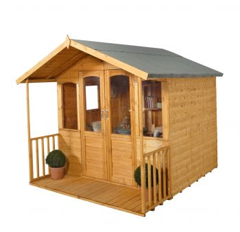 8x8 Hollington Summerhouse - Assembled