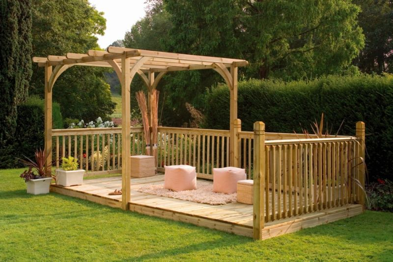 Ultima Pergola Deck Kit 2.4 x 4.8m