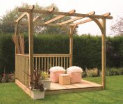 Ultima Pergola Deck Kit 2.4 x 2.4m