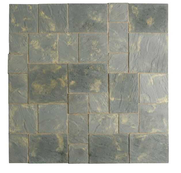Abbey Paving Random Patio Kit 5.76 m² Antique