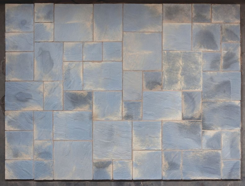 Abbey Paving Random Patio Kit 10.22 m² Antique