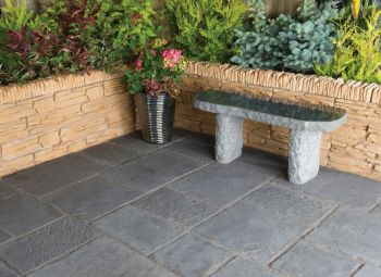 Nova Paving Random Patio Kit 5.76 m² Graphite