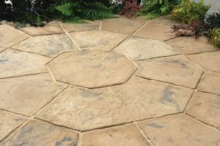 Minster Octagon Kit 2.3m² Autumn Brown