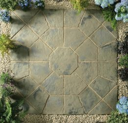 Minster Octagon Kit 2.3m² Rustic Sage