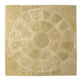 Abbey Circle Squaring Off Kit 2.4m² York Gold