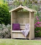 Dorset Wooden Arbour With Storage Box H2m