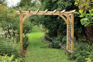 Large Ultima Pergola Arch - 8 x 9ft