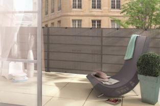 1 x 3m Manhattan Grey Privacy Screen