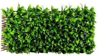 Smart Garden - Artificial Lemon Leaf Willow Trellis Plant Decoration