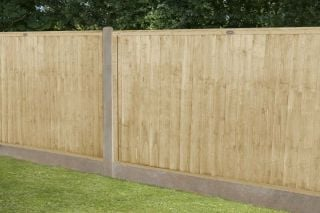 Set of 3 | 6ft x 4ft Closeboard Wooden Fence Panel | Pressure Treated
