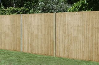 Set of 3 | 6ft x 5ft Closeboard Wooden Fence Panel | Pressure Treated
