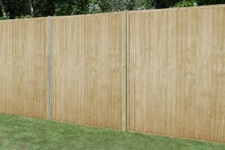 Set of 3 | 6ft x 6ft Closeboard Wooden Fence Panel | Pressure Treated