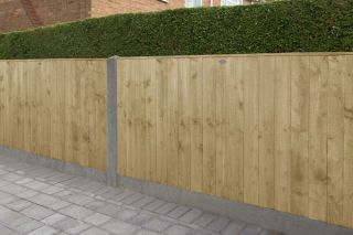 Set of 3 | 6ft x 3ft Featheredge Wooden Fence Panel | Pressure Treated