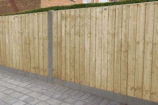 Set of 3 | 6ft x 4ft Featheredge Wooden Fence Panel | Pressure Treated