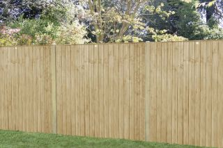 Set of 3 | 6ft x 5ft Featheredge Wooden Fence Panel | Pressure Treated