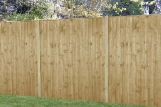 Set of 3 | 6ft x 6ft Featheredge Wooden Fence Panel | Pressure Treated