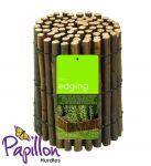 L1m Natural Willow Lawn Edging Roll by - H15cm - Papillon™