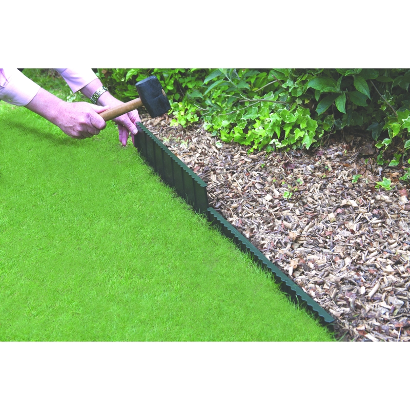 Bosmere flexi edge lawn edging 55cm for Garden trim