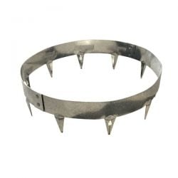 60cm Dia Tree/Garden Ring Galvanised Steel - by CORE Landscape Products
