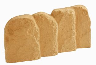 Old Stone York Gold Antique Lawn Edging - 10 Pack (4m)