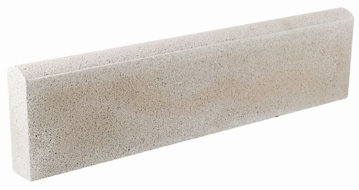 Grey Round Top Lawn Edging - 2 Pack (1.2m)