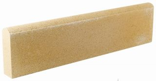Buff Round Top Lawn Edging - 2 Pack (1.2m)