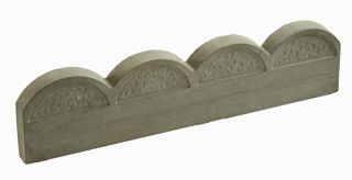Antique Wave Top Lawn Edging - 5 Pack (3m)