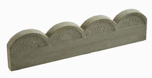 Antique Wave Top Lawn Edging - Single Pack (60cm)