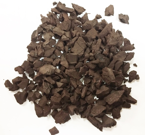 20kg Brown Play Safe Recycled Rubber Mulch