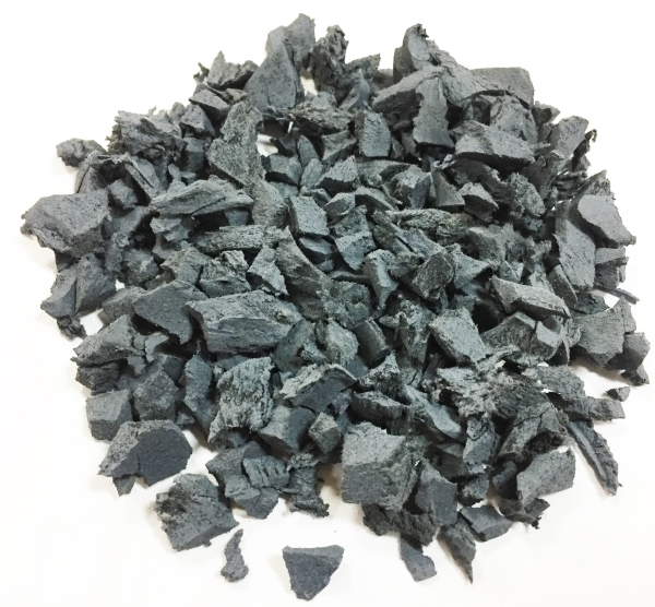 14kg Grey Play Safe Recycled Rubber Mulch