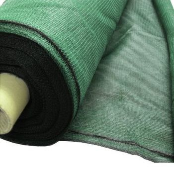 1.5m x 50m Green Heavy Duty Knitted Privacy Screening - Shading 55%