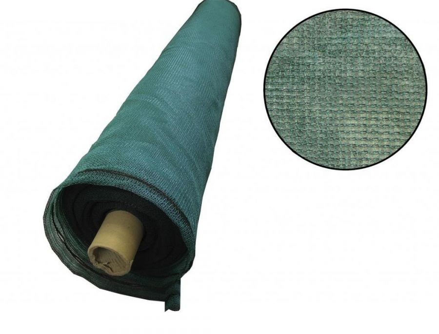 2m x 50m Green Heavy Duty Knitted Privacy Screening - Shading 55%
