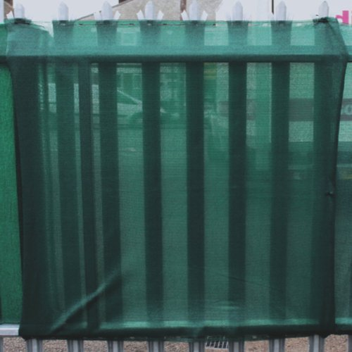 2m x 50m Green Heavy Duty Cobra Knitted Privacy Screening - Shading 95%