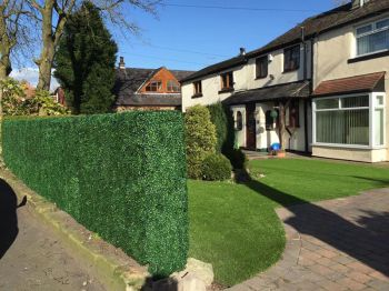 50cm Boxwood Artificial Hedge Panel