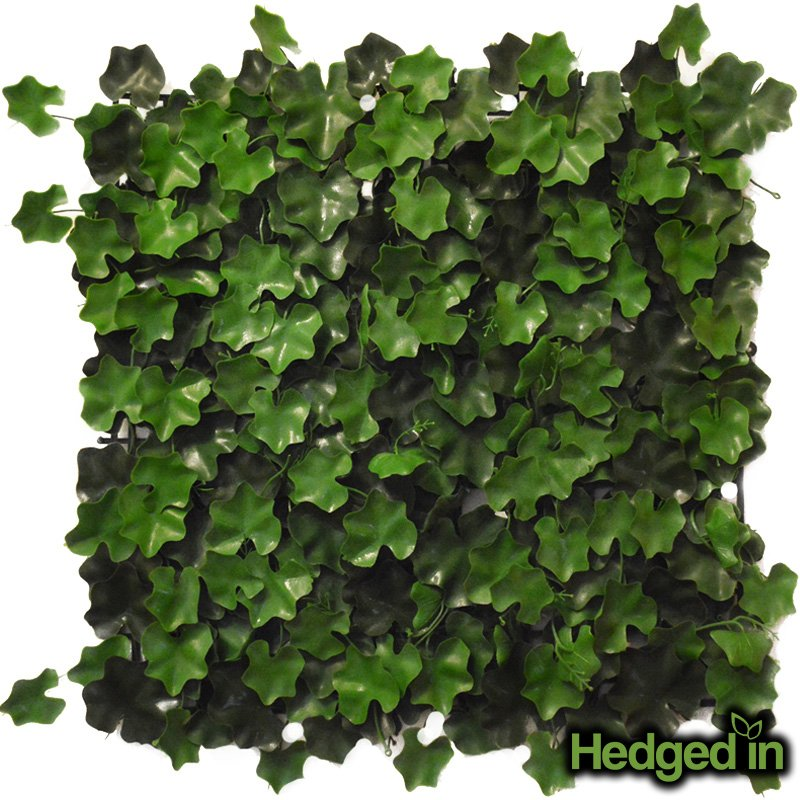 50cm x 50cm Five Star Leaf Artificial Hedge Panel