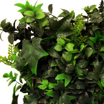 50cm Ivy Bush Artificial Hedge Panel