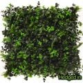 50cm x 50cm Ivy Bush Artificial Hedge Panel by Hedged In�